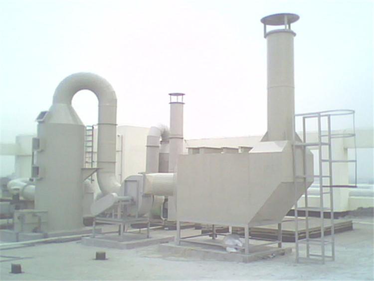优质pp板材焊接酸雾净化塔酸雾处理塔喷淋吸收塔